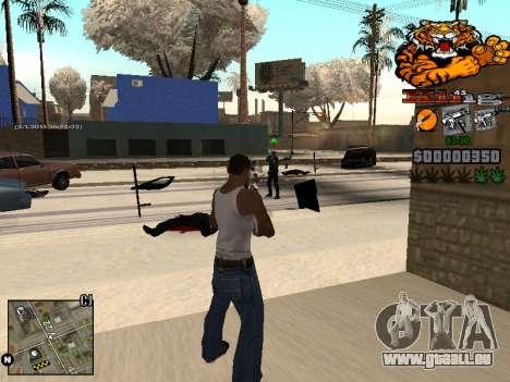 C-HUD King pour GTA San Andreas cinquième écran