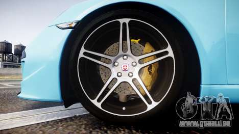 RUF RGT8 2014 pour GTA 4 Vue arrière