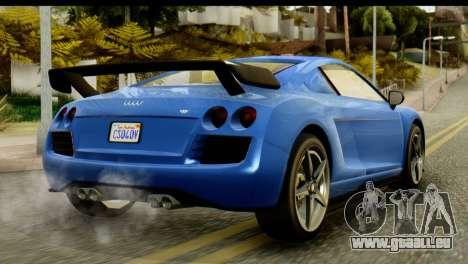 GTA 5 Obey 9F Coupe IVF für GTA San Andreas linke Ansicht
