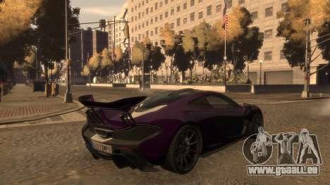 McLaren P1 2013 [EPM] pour GTA 4 est un côté