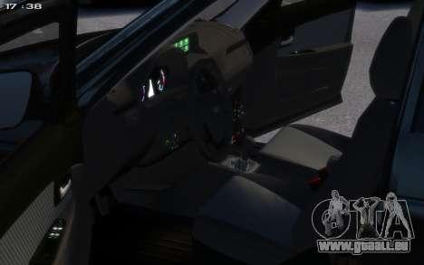 Lada 2172 pour GTA 4 Vue arrière