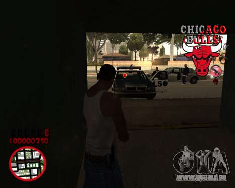 C-HUD by Mefisto pour GTA San Andreas