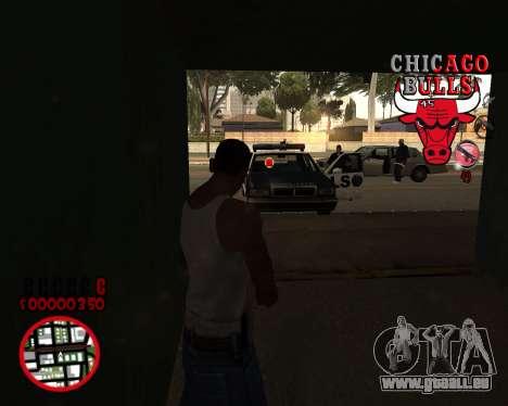 C-HUD by Mefisto pour GTA San Andreas troisième écran