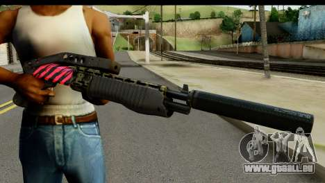Red Tiger Combat Shotgun für GTA San Andreas dritten Screenshot