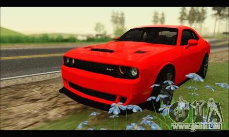 Dodge Challenger SRT HELLCAT 2015 pour GTA San Andreas