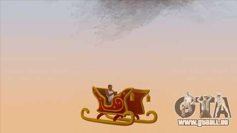 Santa Claus Sleigh für GTA San Andreas