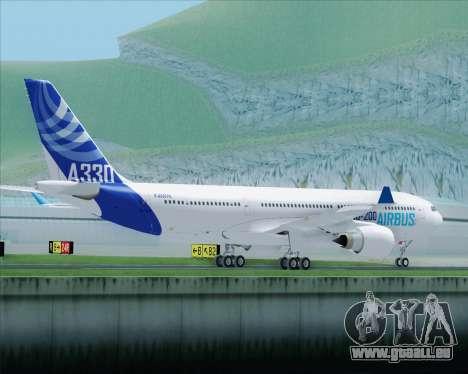 Airbus A330-200 Airbus S A S Livery pour GTA San Andreas vue de côté