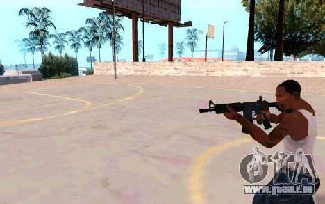 M4A1 (Dodgers) pour GTA San Andreas quatrième écran