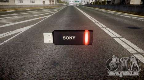 USB-flash-Laufwerk von Sony rot für GTA 4