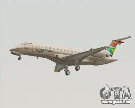 Embraer ERJ-135 South African Airlink pour GTA San Andreas laissé vue