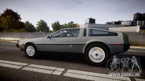DeLorean DMC-12 [Final] für GTA 4 linke Ansicht