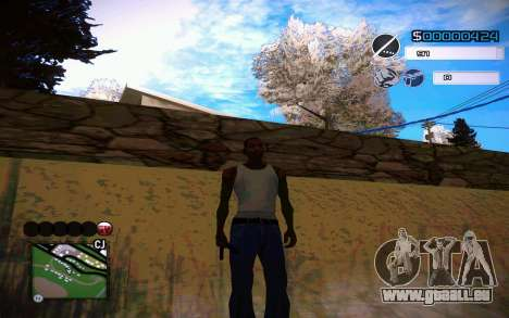 C-HUD by Jeremy Wilsher für GTA San Andreas her Screenshot