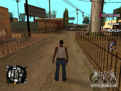 C-HUD WanTed für GTA San Andreas