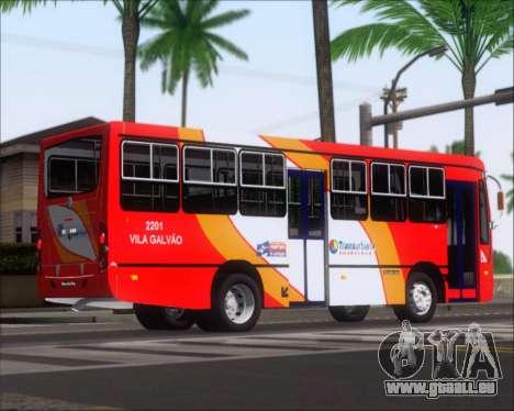 Caio Foz Super I 2006 Transurbane Guarulhoz 2201 pour GTA San Andreas vue arrière