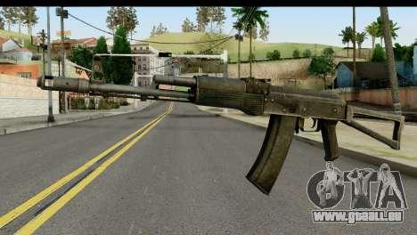 Plastique AKS-74 pour GTA San Andreas