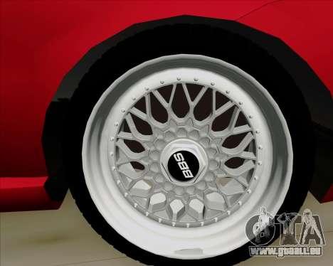 Fiat Siena 2008 pour GTA San Andreas vue de côté