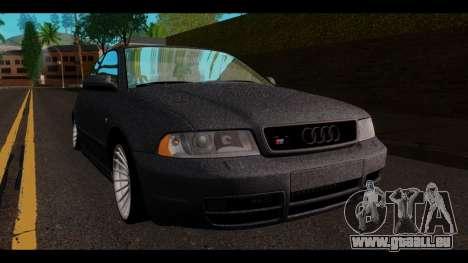 Audi A4 für GTA San Andreas rechten Ansicht