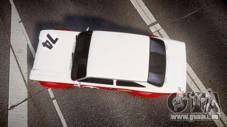 Ford Escort RS1600 PJ74 pour GTA 4 est un droit