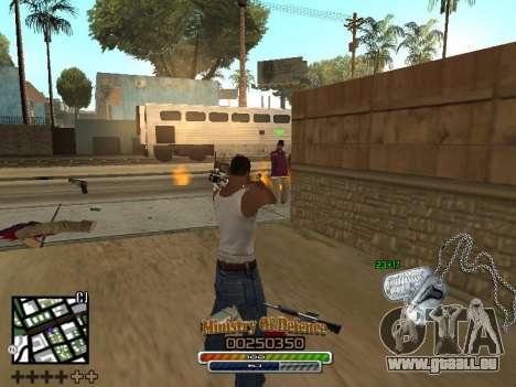 C-HUD для Armee für GTA San Andreas her Screenshot