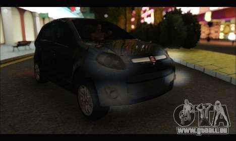 Fiat Palio 2013 pour GTA San Andreas laissé vue