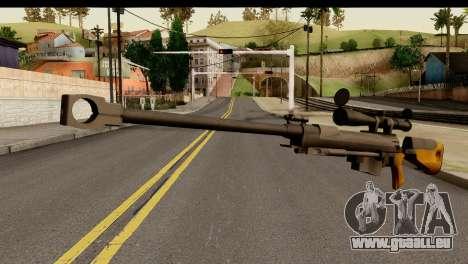 Sinons PGM Ultima Ratio Hecate II für GTA San Andreas