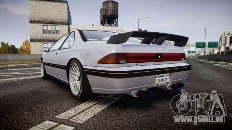 Vapid Fortune XTR pour GTA 4 Vue arrière de la gauche