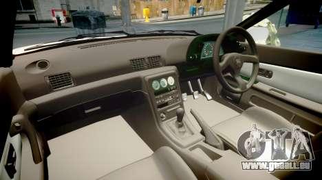 Nissan Skyline R32 GT-R 1993 pour GTA 4 est une vue de l'intérieur