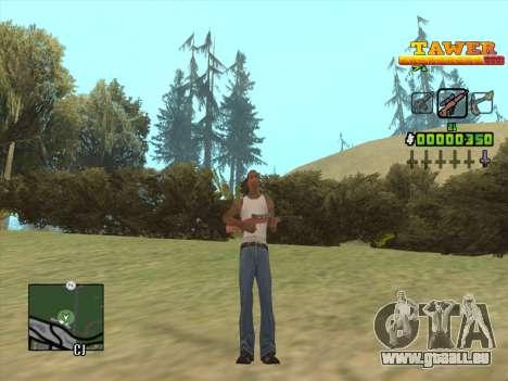 С-HUD von D. Gurt für GTA San Andreas her Screenshot