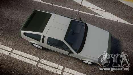 DeLorean DMC-12 [Final] für GTA 4 rechte Ansicht