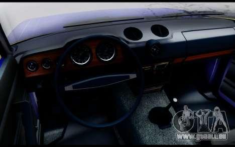 VAZ 2106 les eaux de Ruissellement pour GTA San Andreas sur la vue arrière gauche