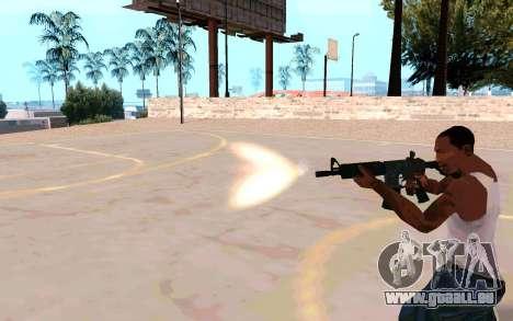 M4A1 (Dodgers) pour GTA San Andreas cinquième écran