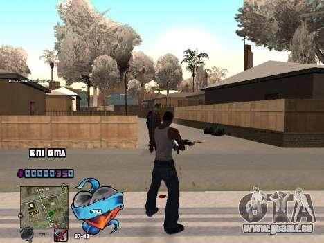 C-PALETTE de Cœur pour GTA San Andreas sixième écran