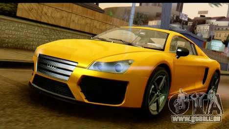 GTA 5 Obey 9F Coupe für GTA San Andreas