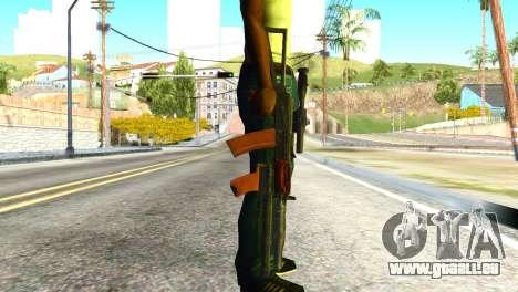 Canaries (america's Army) pour GTA San Andreas troisième écran
