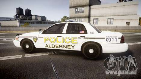 Ford Crown Victoria Police Alderney [ELS] pour GTA 4 est une gauche