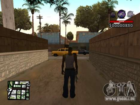 C-HUD by Granto pour GTA San Andreas