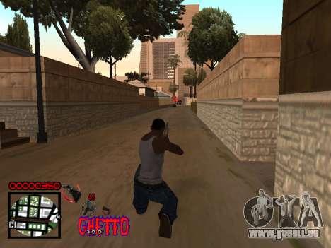 C-HUD by Jones pour GTA San Andreas