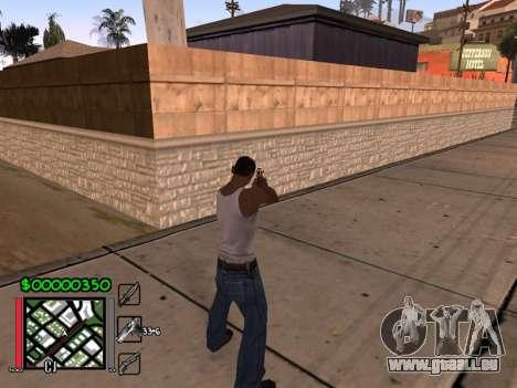 Classic C-HUD 3.4 by Niko für GTA San Andreas zweiten Screenshot