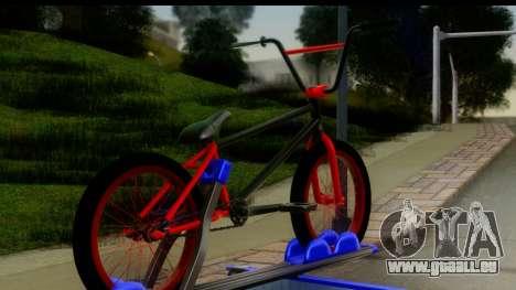 New Elegy Editons pour GTA San Andreas sur la vue arrière gauche