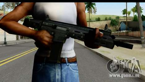SCAR from from State of Decay pour GTA San Andreas troisième écran