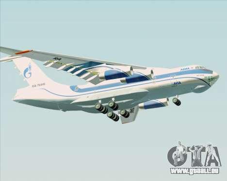 IL-76TD Gazprom Avia für GTA San Andreas Innenansicht