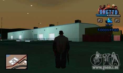 C-HUD Gangster für GTA San Andreas