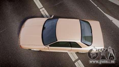 Nissan Skyline R32 GT-R 1993 pour GTA 4 est un droit