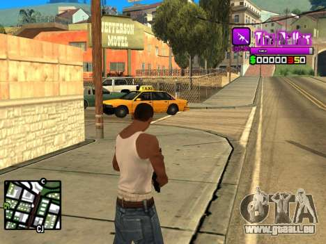 C-HUD Ballas by Inovator pour GTA San Andreas deuxième écran