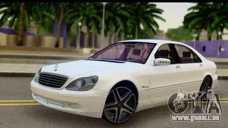 Mercedes-Benz S600 AMG für GTA San Andreas