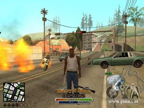 C-HUD для Armee für GTA San Andreas