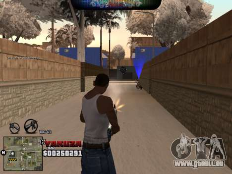 C-HUD Yakuza pour GTA San Andreas