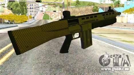 Assault Shotgun from GTA 5 pour GTA San Andreas deuxième écran