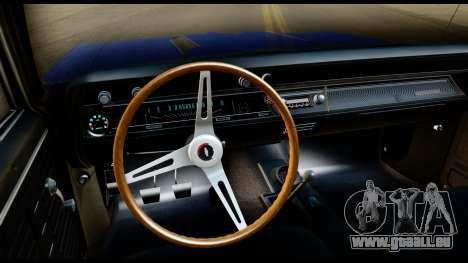 Chevrolet Chevelle SS 396 L78 Hardtop Coupe 1967 für GTA San Andreas Rückansicht