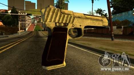 Desert Eagle from GTA 5 für GTA San Andreas zweiten Screenshot
